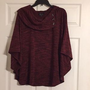 Over sized half sleeve sweater